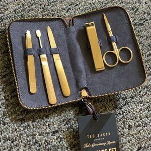 Ted Baker Gold Manicure Set